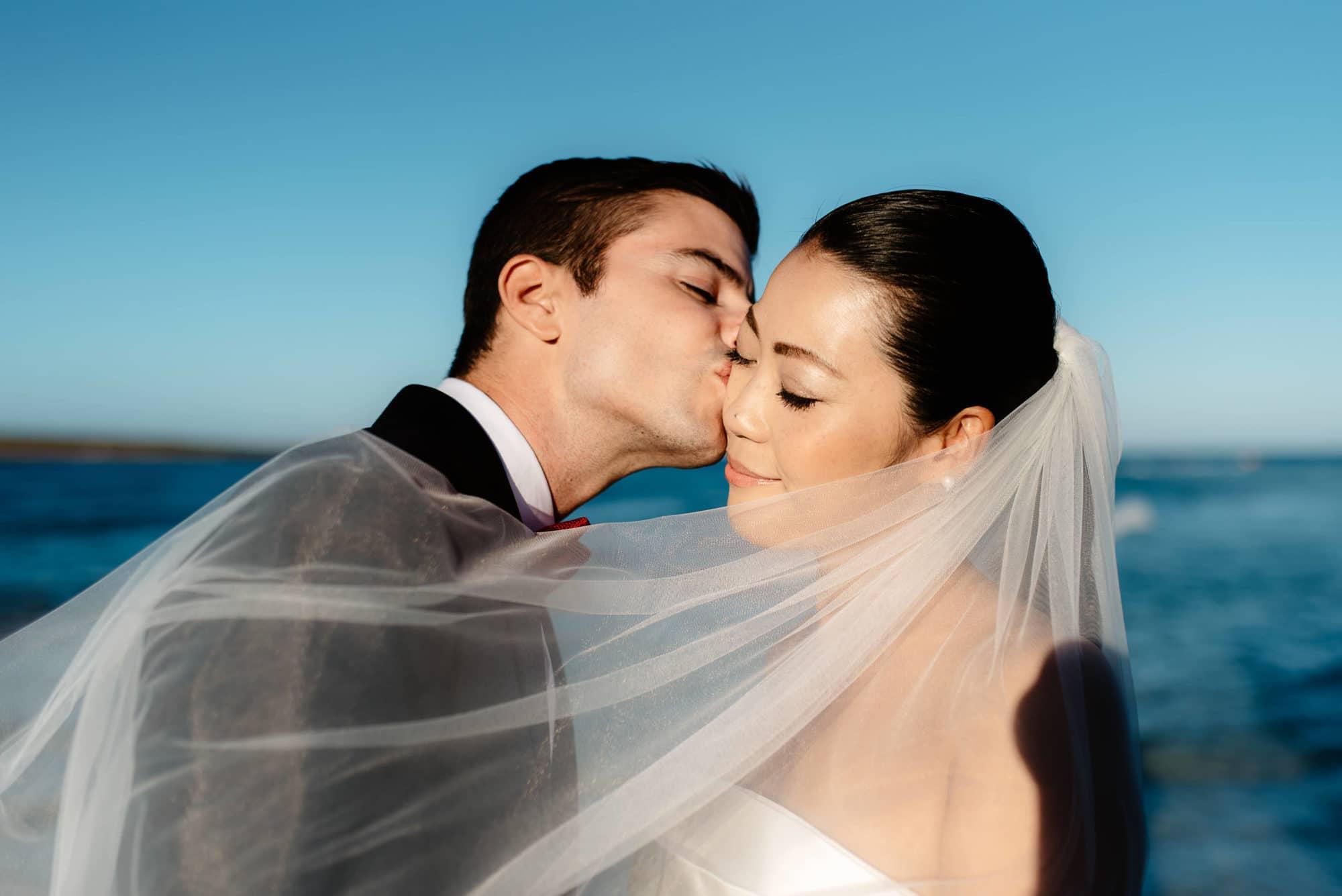 Wedding session Stintino with Japanese bride