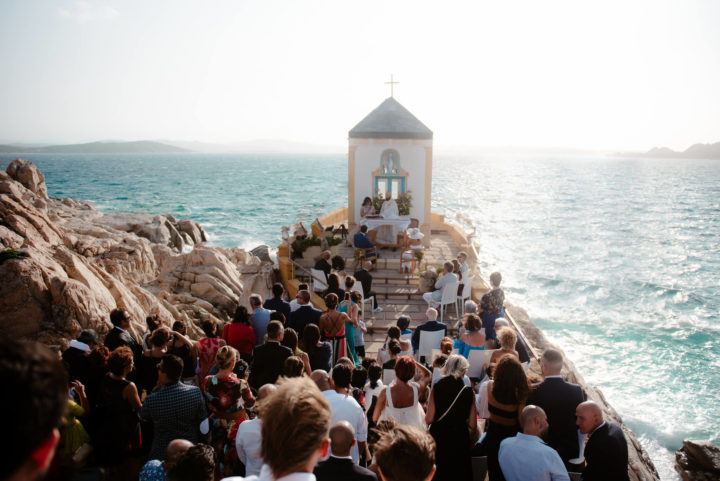 Wedding in La Maddalena, Sardinia.