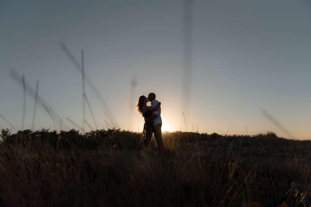 proposal sassari beach sunset
