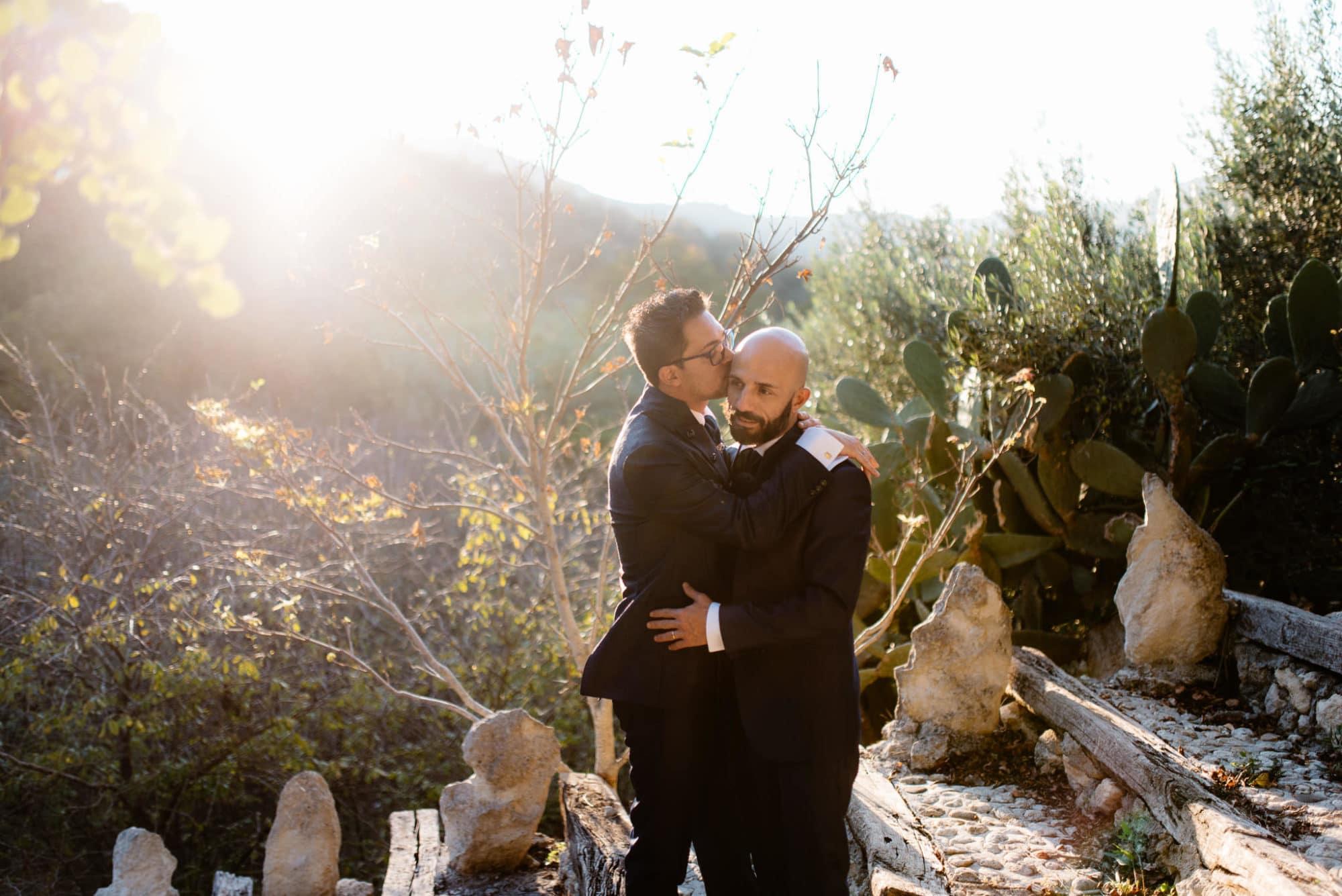 Sardinia gay wedding