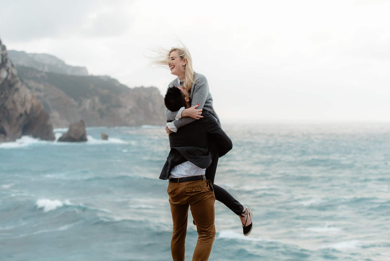 emotional wedding proposal sardinia