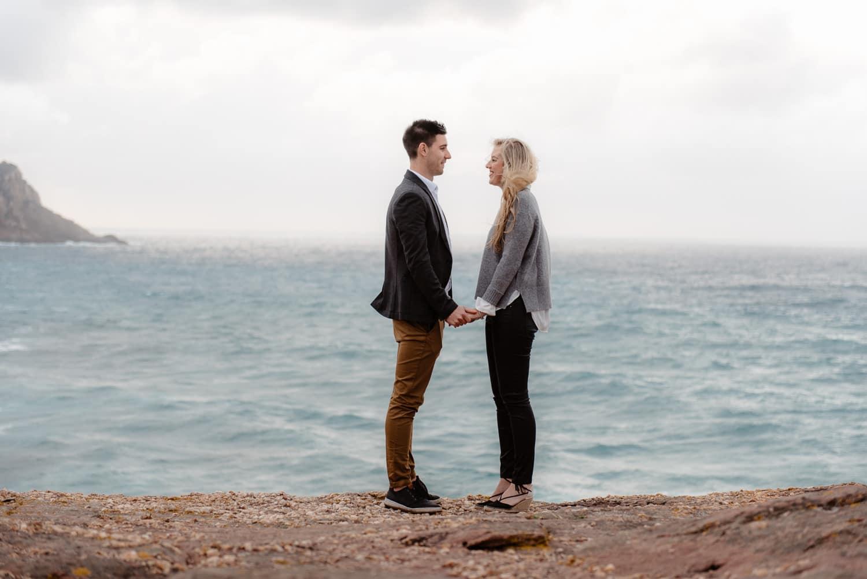 Sardinia wedding proposal Alghero