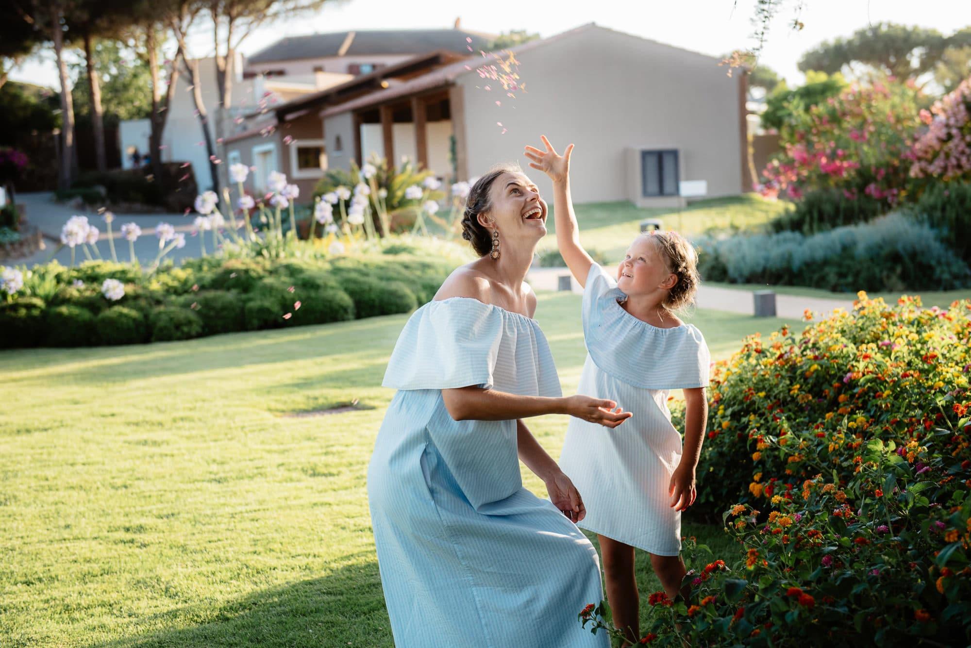 Holiday photos in sardinia
