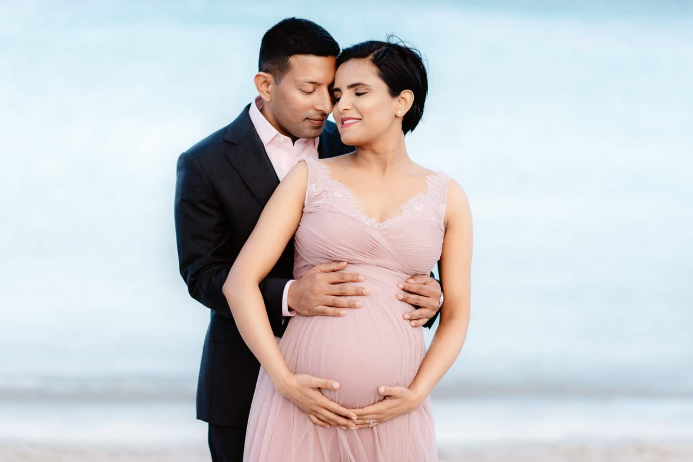 Maternity photos in Sardinia