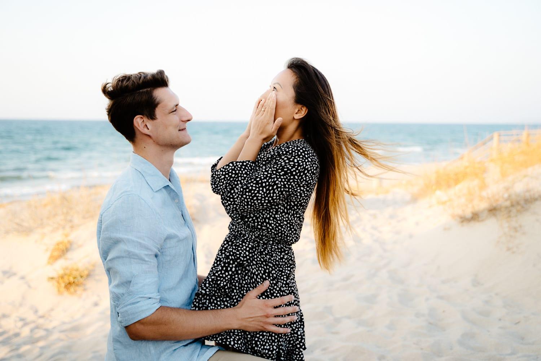 wedding proposal sassari