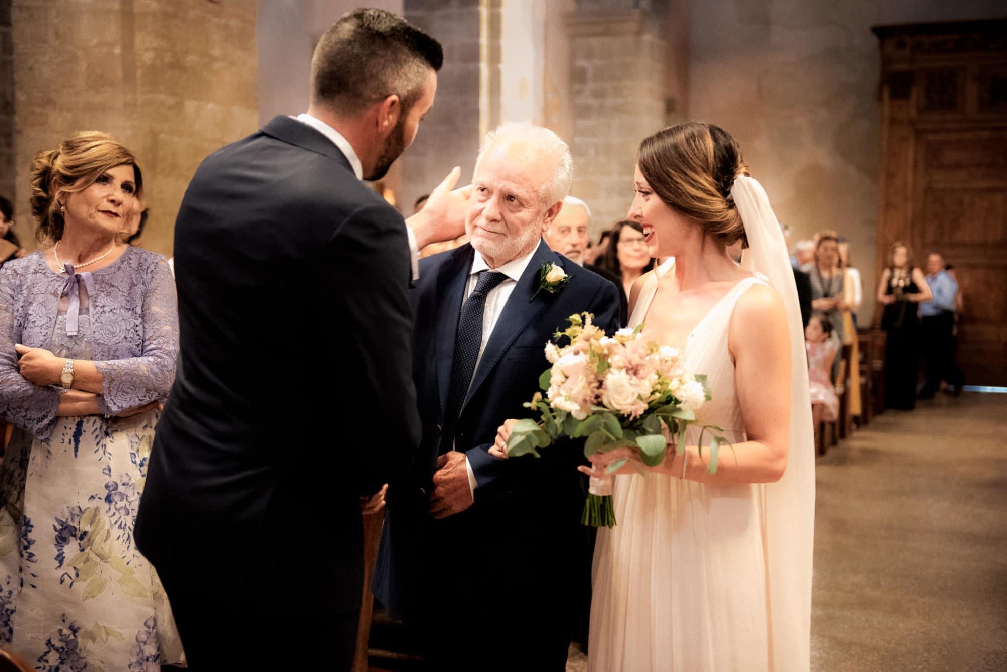 wedding in Alghero, emotional