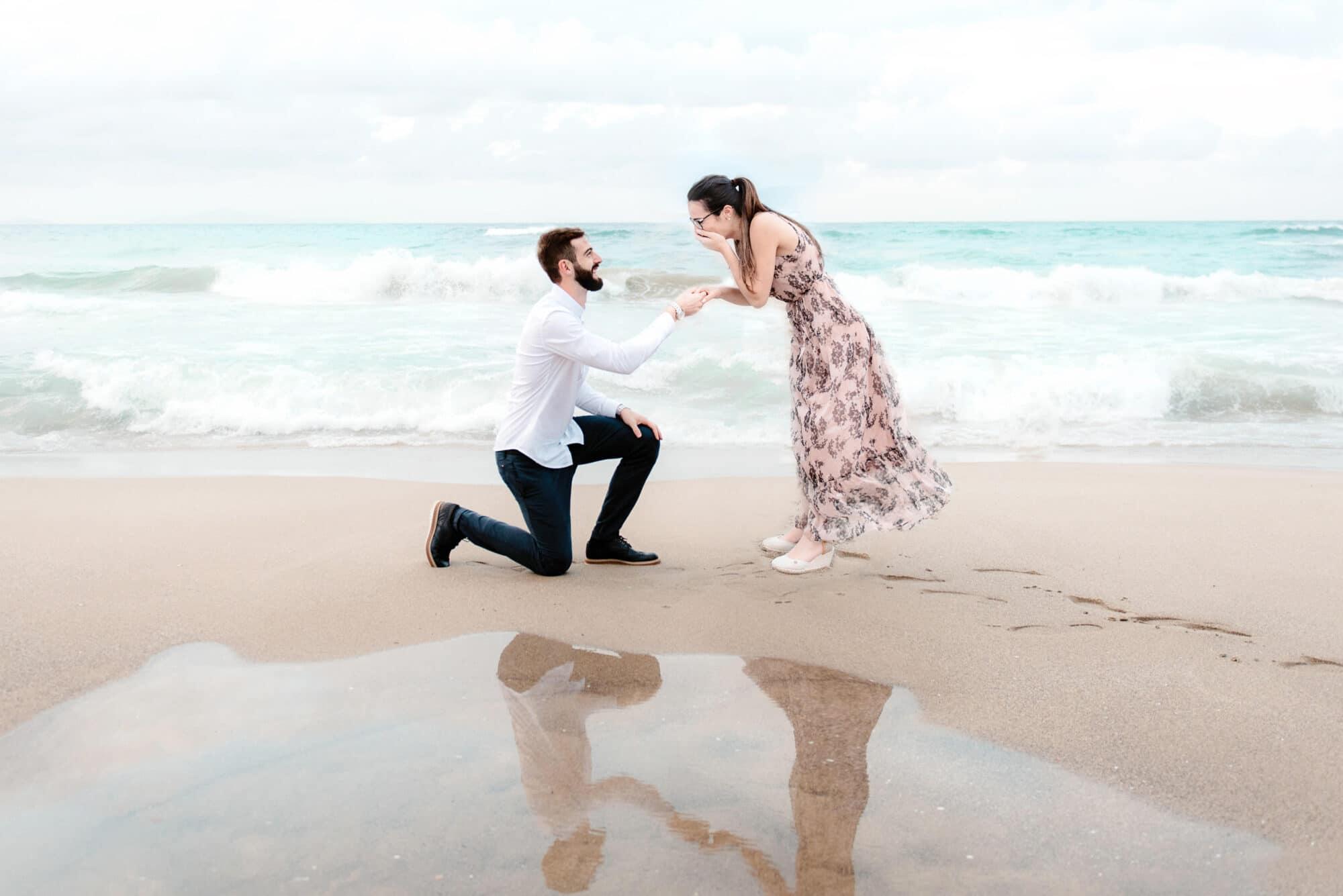 proposta di matrimonio in spiaggia sardegna