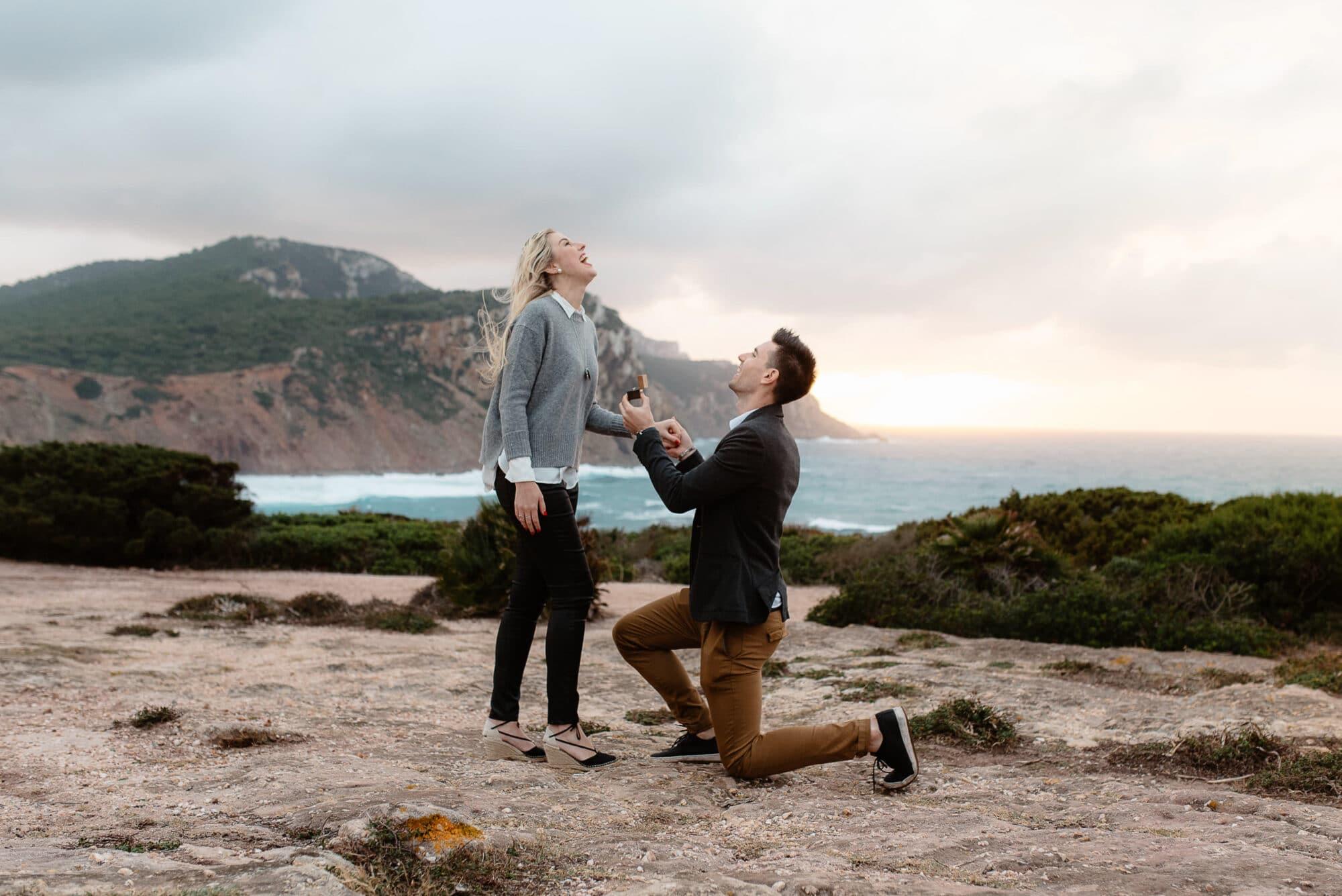 alghero wedding proposal