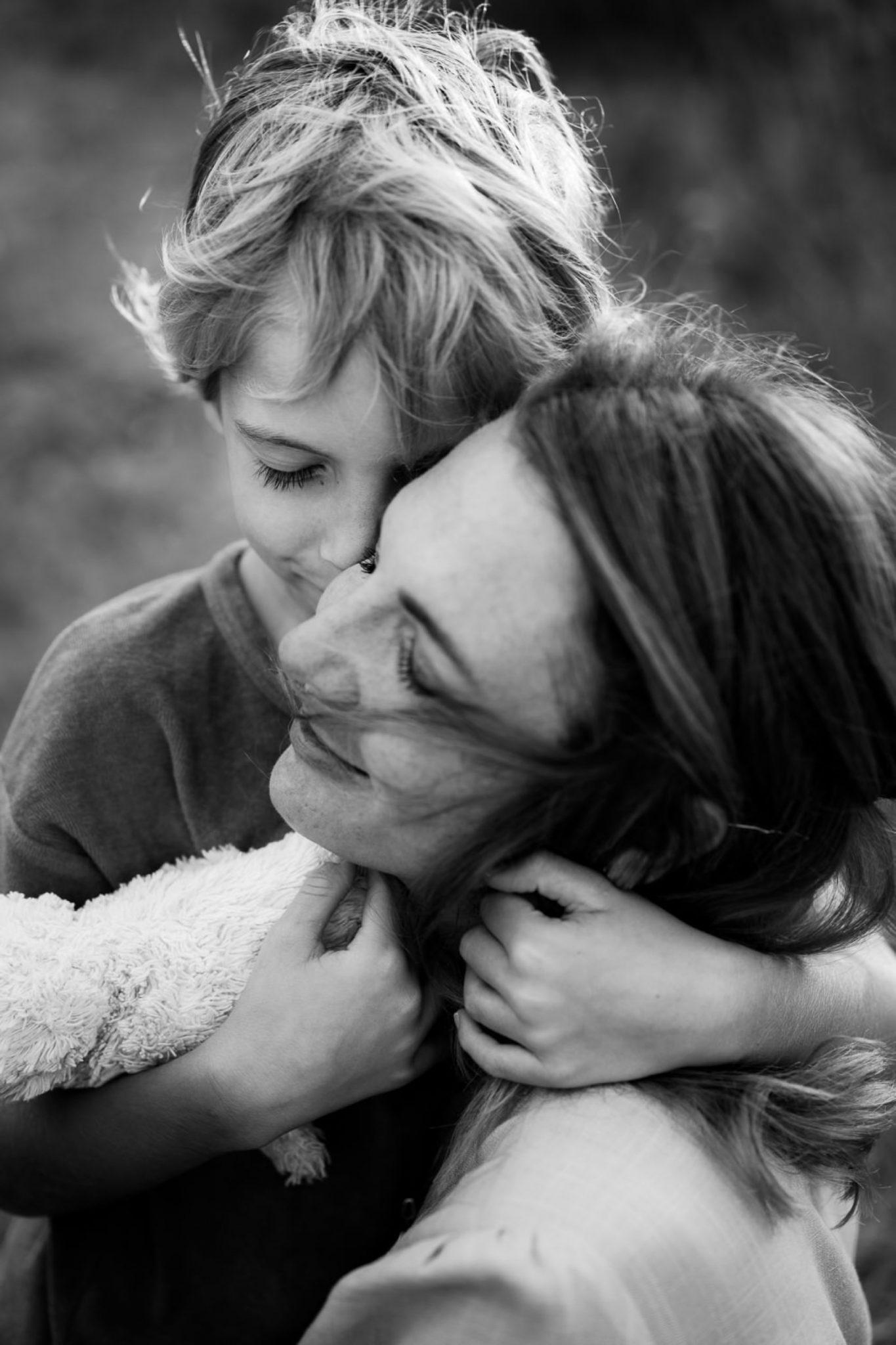 mamma e figlio foto Sardegna