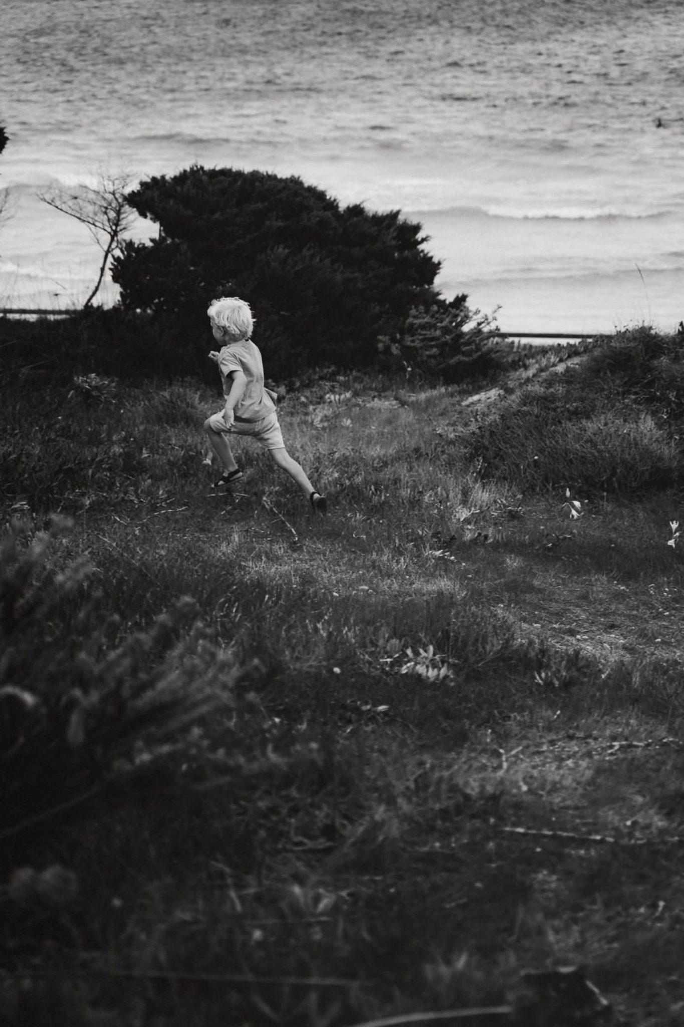 bambino che corre Stintino