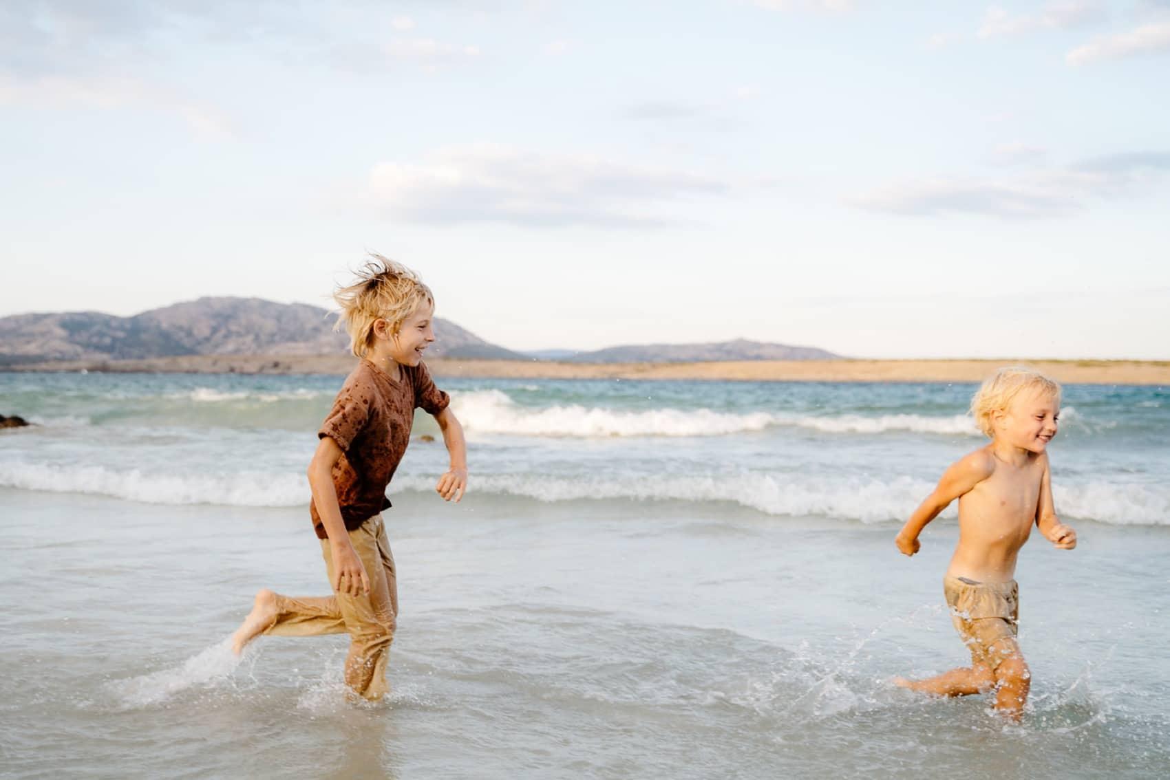 foto in spiaggia sardegna  Stintino