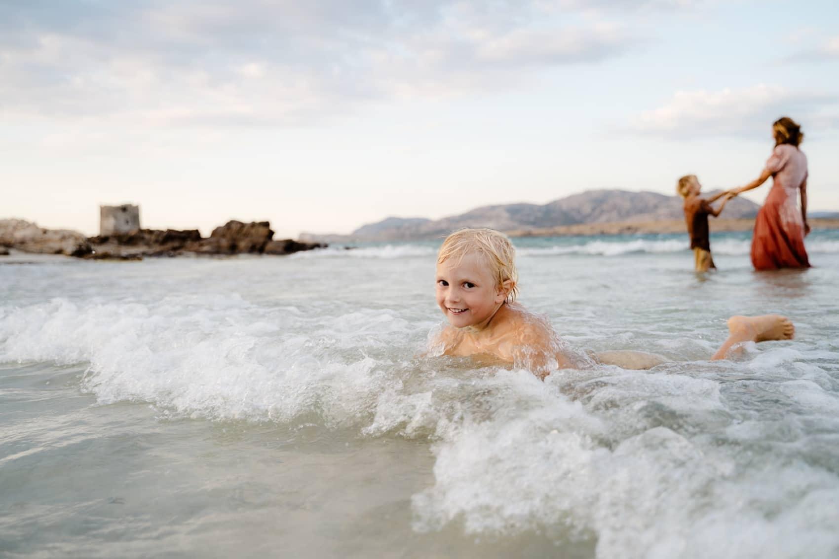 foto in spiaggia sardegna la pelosa